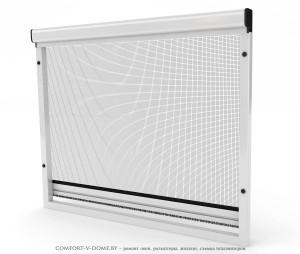 Рулонные сетки на пластиковые окна