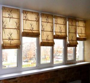 Рольшторы на балкон (на окна)