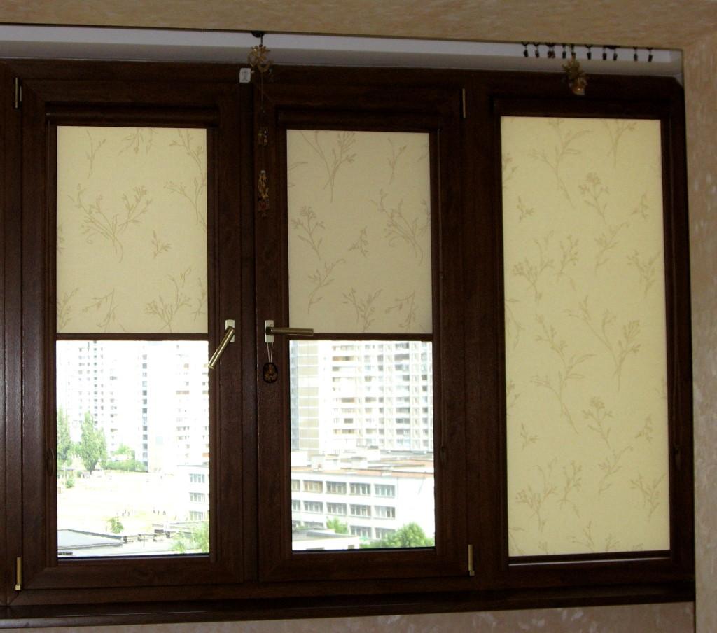 Рольшторы на деревянные окна