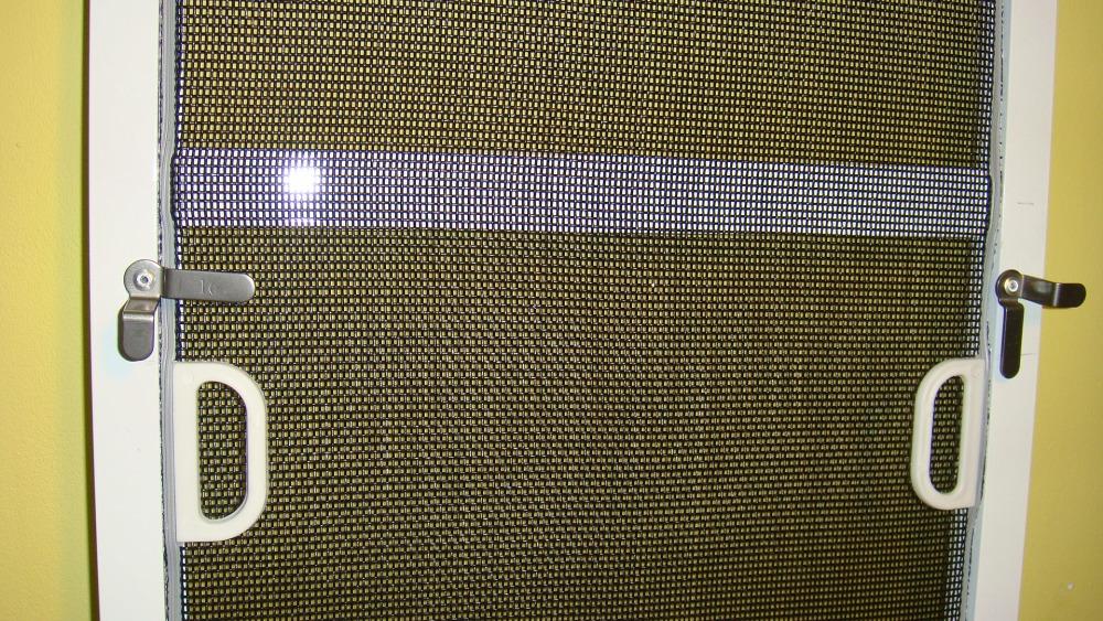 Москитная сетка на пластиковые окна своими руками фото
