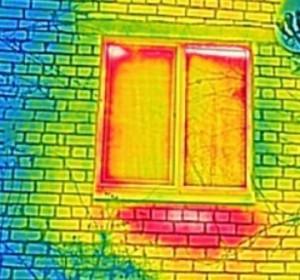 Утечка тепла. Обследование тепловизором квартиры и дома.