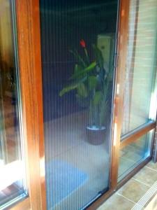 Москитная сетка плиссе (плиссированная антимоскитная сетка)