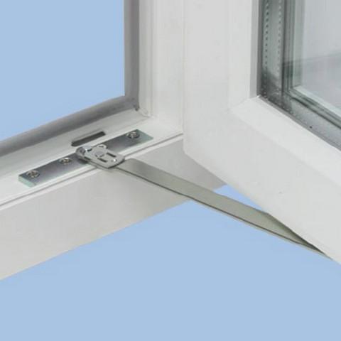 Ограничитель открывания створки окна (фиксатор открывания) н.