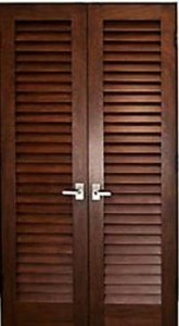 Двери-жалюзи для шкафа/на балкон
