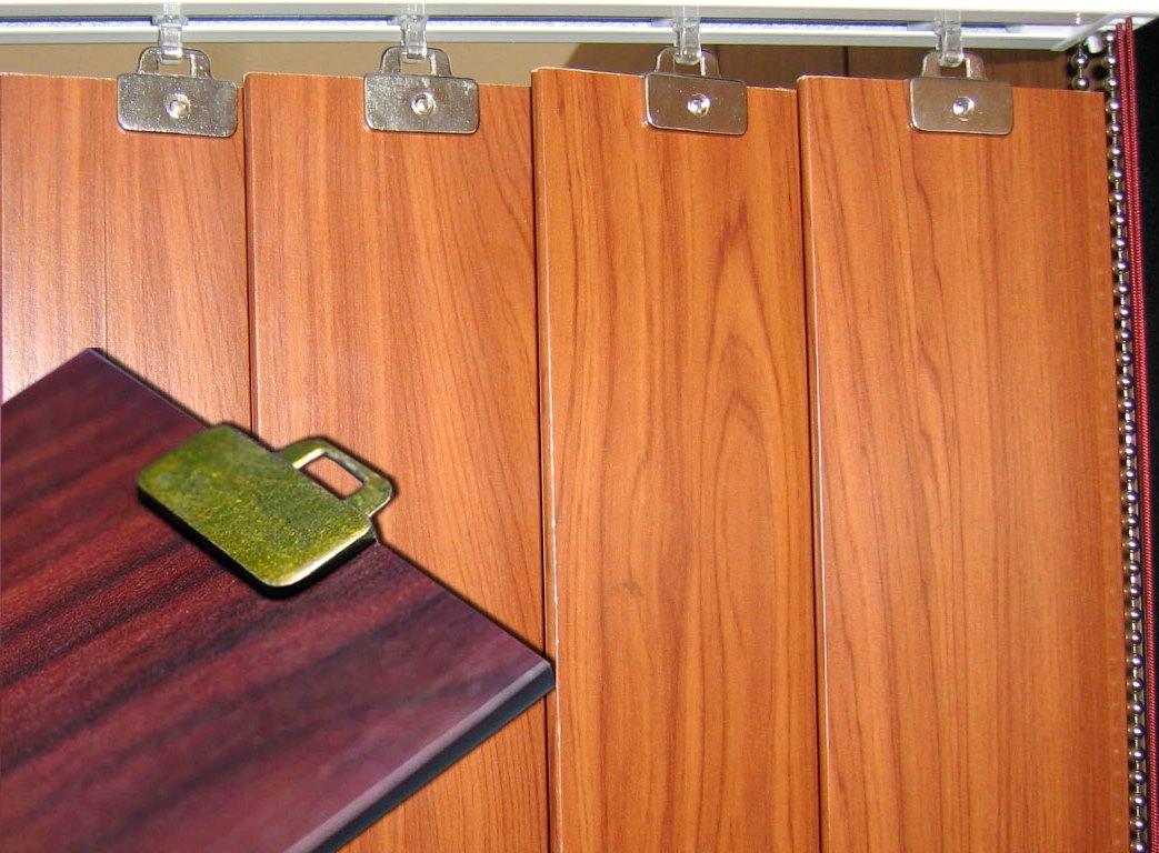 Жалюзи вертикальные деревянные