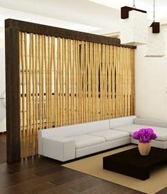 Жалюзи горизонтальные бамбуковые