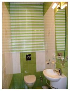 жалюзи в туалете и ванной